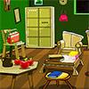 Alte grüne Zimmer entkommen Spiel