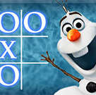 Olaf Noughts Crosses game