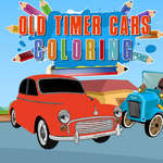 Old Timer Cars Coloring game