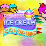 Online Ice Cream Coloring game