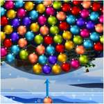 Orbiting Xmas Balls game