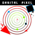 игра Орбитальный пиксель
