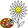Bana çiçek boya oyunu