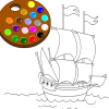 Gemiyi boyamayı oyunu