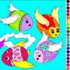 Huevos de pintura 2 - juegos de colorear Rossy
