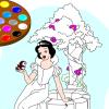 Malen Sie mir Snow White Spiel