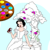Me pintar Blancanieves juego