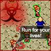 Ragazzo pandemia gioco