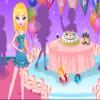 Proyector fiesta chica juego