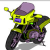 Paint Motorcycle game