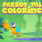 Parrot Pal Coloring game