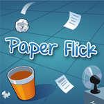 Paper Flick game