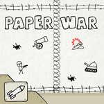 Papieren oorlog spel
