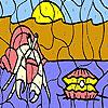 Gyöngy és rovar színező játék