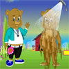 Peppys Pet Caring - Bear game