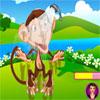 игра Peppys Pet Забота - качания обезьяны