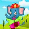 Kisállat elefánt öltöztetős játék