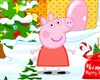 Peppa Pig decorated Christmas game