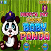 Peppys Pet Caring - Baby Panda game