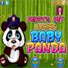 Peppys kisállat gondozó - Baba Panda játék