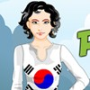 Peppy Patriotic South Korea Girl game