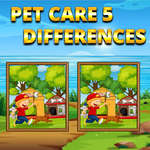 Pet Care 5 Differences game
