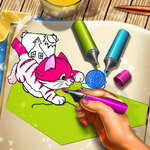 Pets Coloring Book game