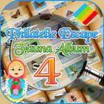Philatelic Escape Fauna Álbum 4 juego