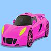 Colorante masina superba roz joc