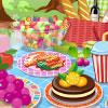 Ahşap piknik oyunu
