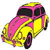 Roz masina de colorat broasca testoasa joc