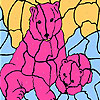 Pink bears coloring game
