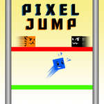 Pixel Jump game
