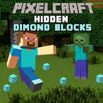 Pixelcraft Hidden Diamond Blocks game