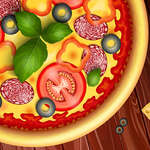 Pizza maker cooking and bakings for kids game