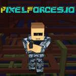 PixelForces io Spiel