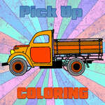 Pick Up Trucks Coloring game