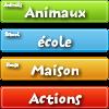 Fransızca öğrenmek ve oynamak oyunu