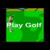 Golf spelen