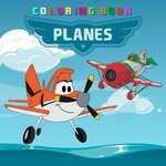 Самолети книжка за оцветяване игра