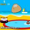 Pou Kick Up game
