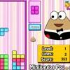 Pou Tetris game