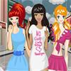 Adolescentes ramillete - Fashionista día de lluvia juego