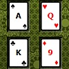Poker Square Solitaire game