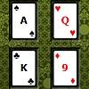 игра Покер квадратных пасьянс