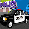 Rendőrség-teherautó játék