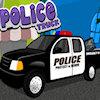 Camion de police jeu