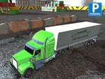 игра Парковка портовых грузовиков