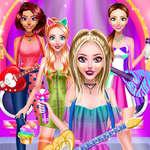 Popstar Girls Dress Up juego