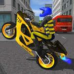 полицейски мотор състезание 3d игра
